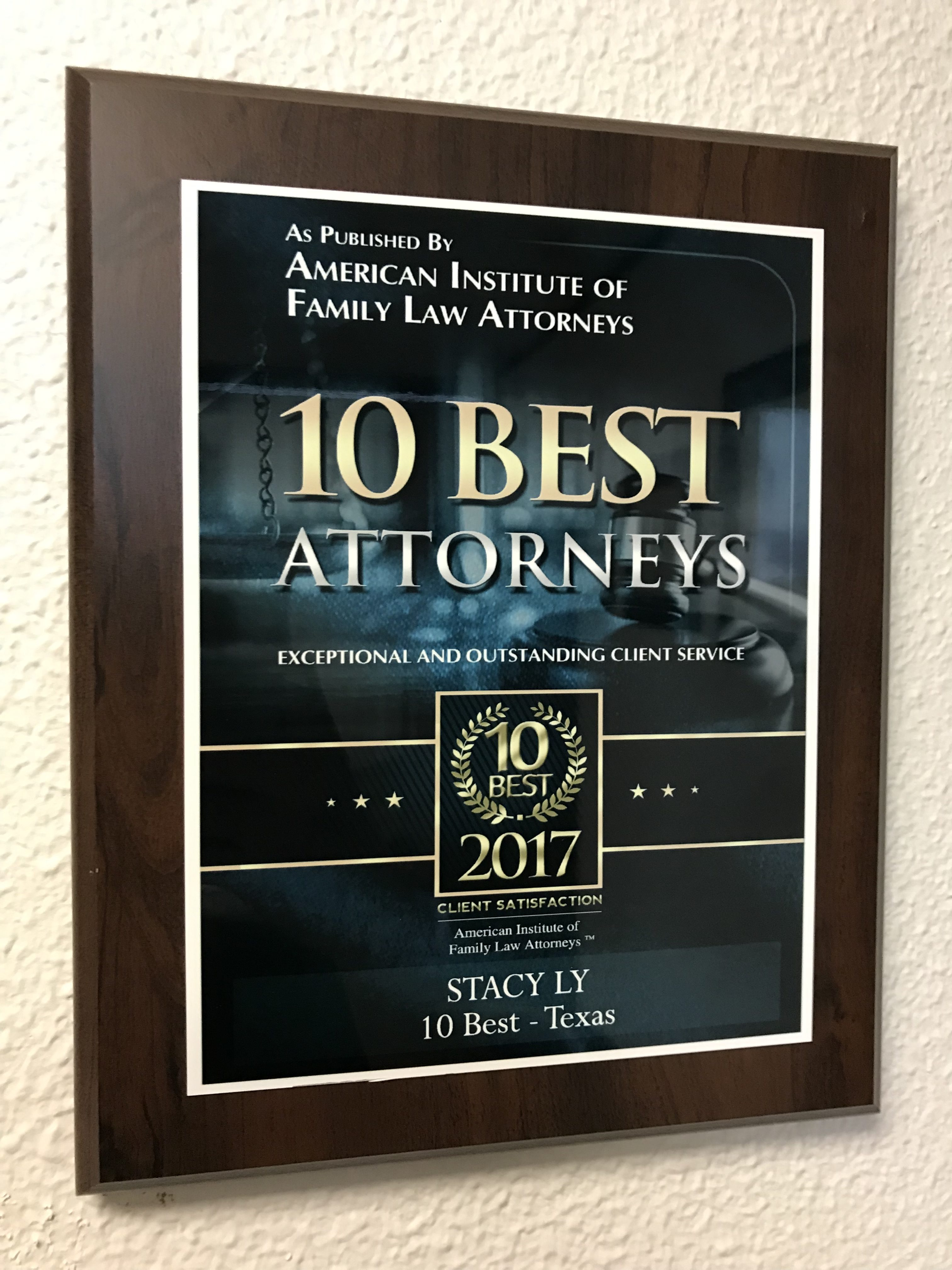 Houston Lawyer - Stacy Ly Top 10 best Texas Family lawyers
