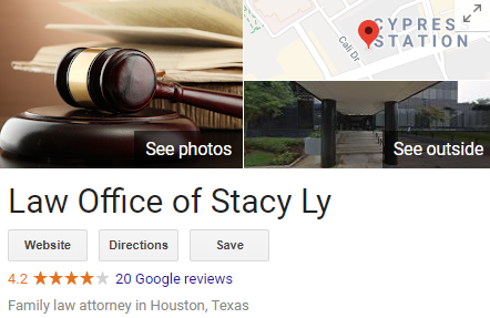 Houston Lawyer - Stacy Ly Google Reviews